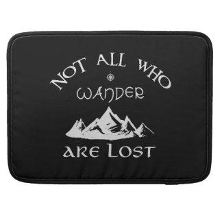 Capa Para MacBook Não tudo que Wander é perdido
