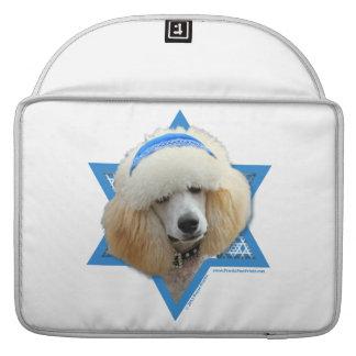 Capa Para MacBook Pro Estrela de David de Hanukkah - caniche - abricó