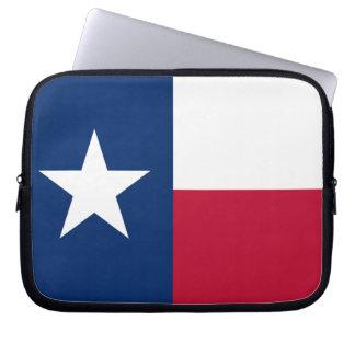 Capa Para Notebook A bandeira solitária de Texas da bandeira da