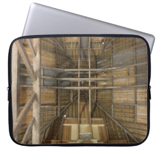 Capa Para Notebook A bolsa de laptop abstrata do telhado