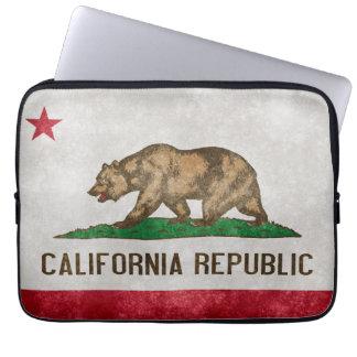 Capa Para Notebook A bolsa de laptop da bandeira do estado de