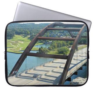 Capa Para Notebook A bolsa de laptop da ponte de Austin 360