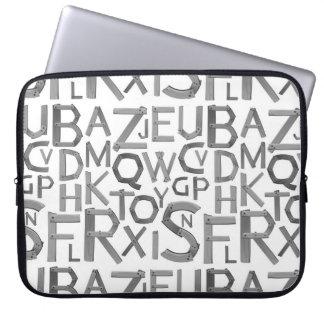 Capa Para Notebook a bolsa de laptop do neopreno do Alfa-bate 15