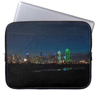 Capa Para Notebook Alvorecer Pano da skyline de Dallas