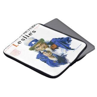 Capa Para Notebook Arte militar patriótica da capa de revista da