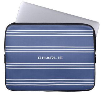 Capa Para Notebook As bolsas de laptop feitas sob encomenda marinhas