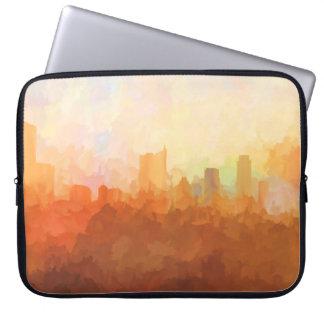 Capa Para Notebook AUSTIN, TEXAS Skyline-no cobrir do Nuvem-Laptop