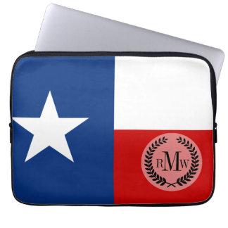 Capa Para Notebook Bandeira clássica do estado de Texas