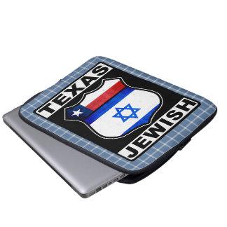 Capa Para Notebook Cobrir americano judaico do laptop de Texas