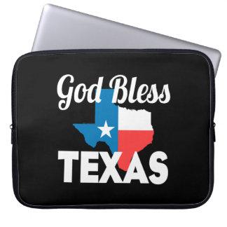 Capa Para Notebook Deus abençoe Texas