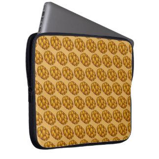 Capa Para Notebook Feriado trançado do pão do Chalá de Chanukah