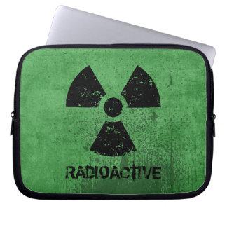 Capa Para Notebook Grunge radioativo da Seleto-UM-Cor