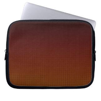 Capa Para Notebook Hex alaranjado do esmagamento