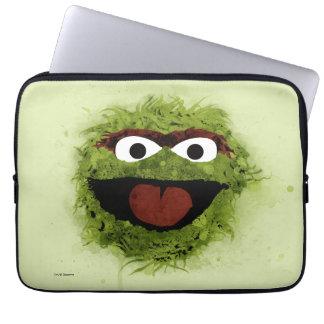 Capa Para Notebook Oscar a tendência da aguarela do Grouch |