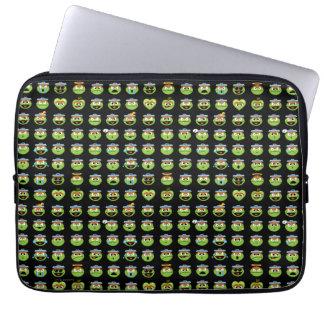 Capa Para Notebook Oscar o teste padrão de Emoji do Grouch
