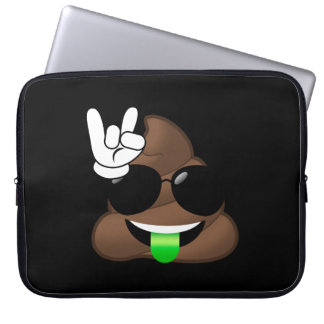 Capa Para Notebook Rocha no tombadilho de Emoji