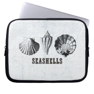 Capa Para Notebook Seashells do vintage