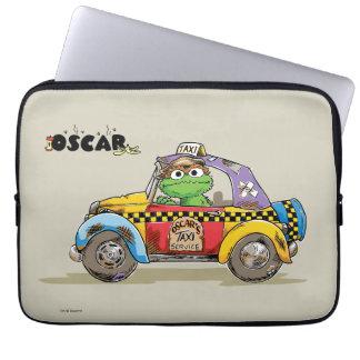 Capa Para Notebook Serviço do táxi de Oscar do vintage
