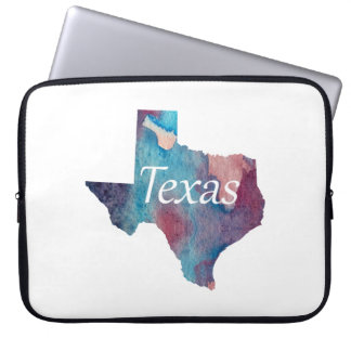 Capa Para Notebook Silhueta de Texas