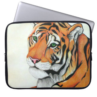 Capa Para Notebook Tigre (arte de Kimberly Turnbull)