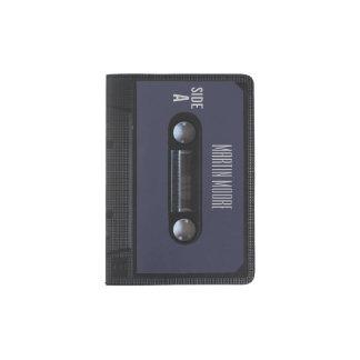 Capa Para Passaporte Cobrir audio da gaveta do estilo do vintage retro
