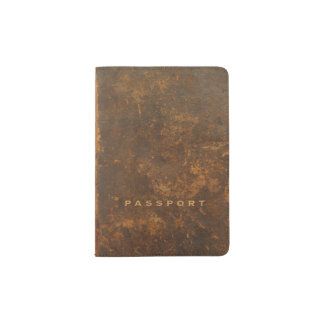 Capa Para Passaporte Couro velho