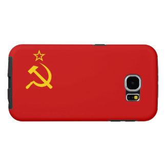 Capa Para Samsung Galaxy S6 Bandeira de União Soviética
