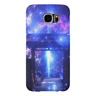 Capa Para Samsung Galaxy S6 Caminho iridescente a em qualquer lugar