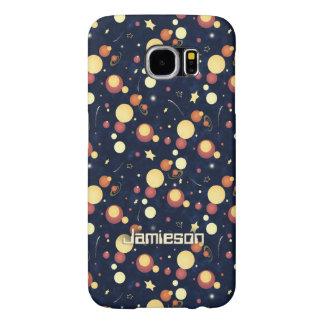 Capa Para Samsung Galaxy S6 Céu cósmico positivamente orbital do nighttime