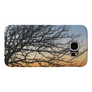 Capa Para Samsung Galaxy S6 Céu do inclinação no inverno