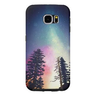 Capa Para Samsung Galaxy S6 Céu nocturno bonito que brilha até os céus