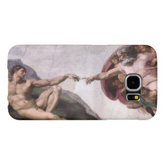 Capa Para Samsung Galaxy S6 Criação de Adam por Buonarroti Michelangelo