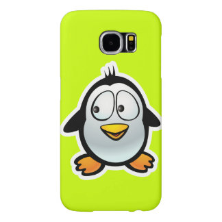 Capa Para Samsung Galaxy S6 Desenhos animados legal do pinguim
