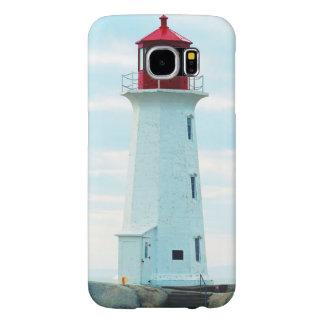 Capa Para Samsung Galaxy S6 Farol velho, oceano azul, marítimo, náutico