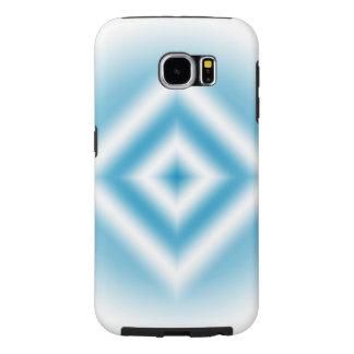 Capa Para Samsung Galaxy S6 inclinação azul do diamante do Personalizar-céu