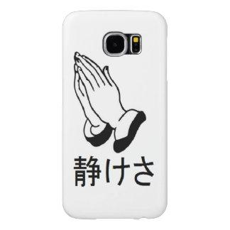 Capa Para Samsung Galaxy S6 Kanji da tranquilidade