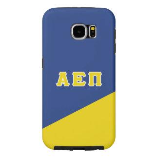 Capa Para Samsung Galaxy S6 Letras alfa do grego do Pi   do épsilon