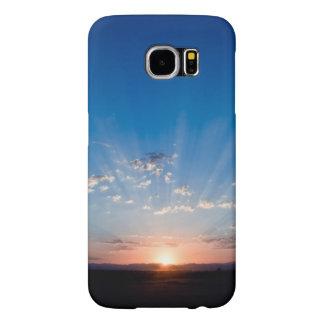 Capa Para Samsung Galaxy S6 Nascer do sol