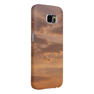 Capa Para Samsung Galaxy S6 O por do sol nubla-se a fotografia abstrata da