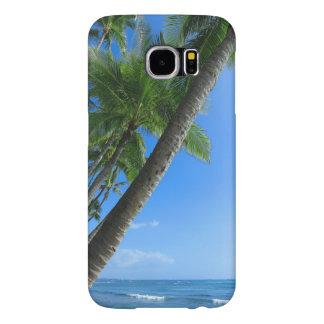 Capa Para Samsung Galaxy S6 Palmas de coco