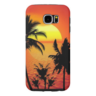 Capa Para Samsung Galaxy S6 Por do sol bonito