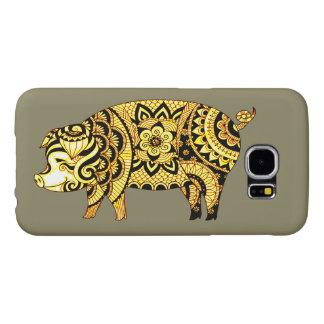 Capa Para Samsung Galaxy S6 Porco