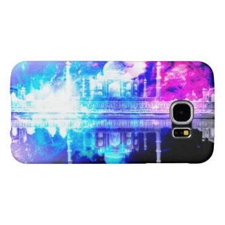 Capa Para Samsung Galaxy S6 Sonhos de Taj Mahal do céu da criação