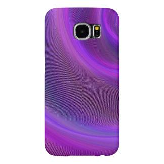 Capa Para Samsung Galaxy S6 Tempestade roxa da noite
