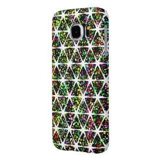 Capa Para Samsung Galaxy S6 Teste padrão de estrela com Splatter da pintura