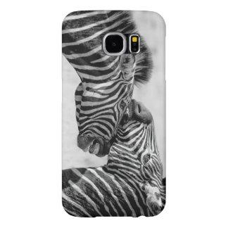 Capa Para Samsung Galaxy S6 Zebras pelo storeman