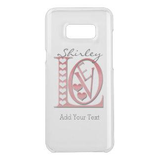 Capa Para Samsung Galaxy S8+ Da Uncommon Cartas de amor com corações por Shirley Taylor
