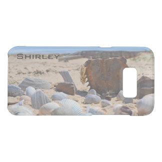 Capa Para Samsung Galaxy S8+ Da Uncommon Seashells na praia por Shirley Taylor
