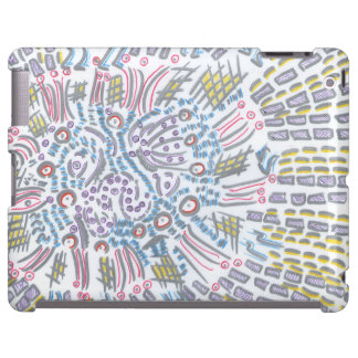 Capa para tablet arte abstracta capa para iPad