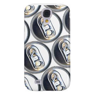 Capa Samsung Galaxy S4 As bebidas enlatam partes superiores